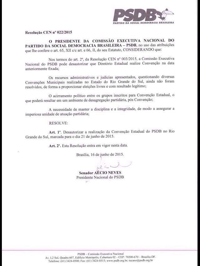 AECIO RESOLUÇÃO..