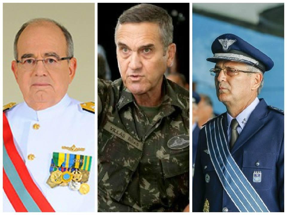 comandantes...